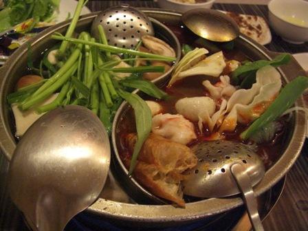鴛鴦鍋(おしどりなべ)2