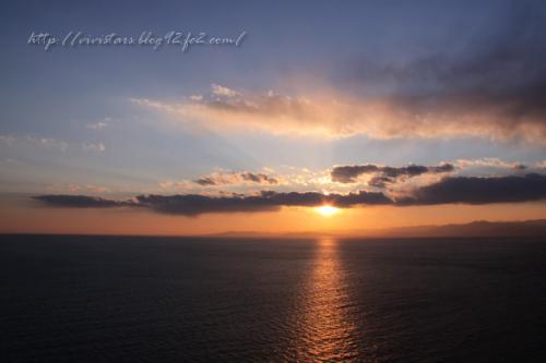戸田からの夕陽02