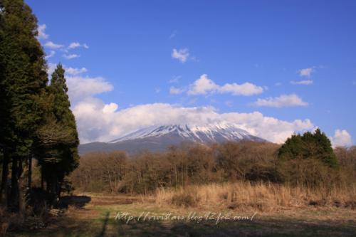 富士山20110429