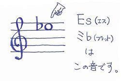 Es(ミ♭)の音