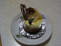 フレジェの「洋ナシと栗(?)のケーキ」