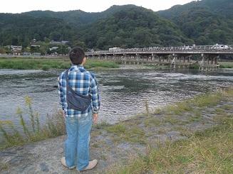 渡月橋と俺