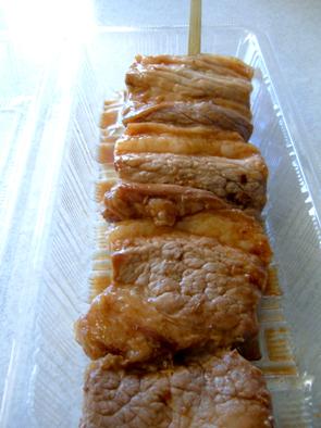 ジャンボ豚串
