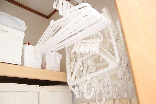 【無印良品のハンガーラック】使い続けて十数年 洗濯干しの相棒です