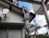 メガエッグ光回線工事20100928-3