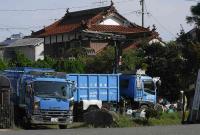 粗大ゴミ回収車