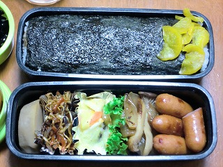 20101108やっさん弁当