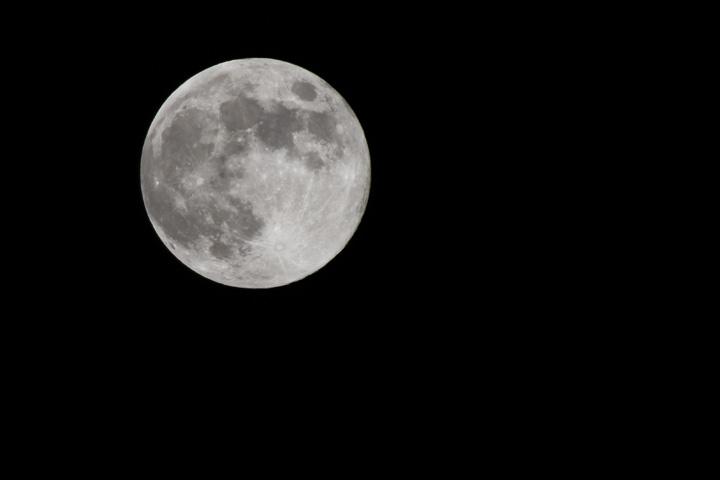 去年の満月