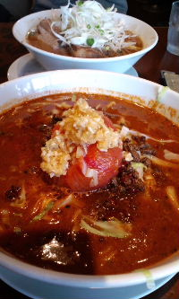 トマトスープ坦々麺