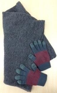 スヌード&手袋