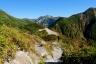 鷲羽岳と双六小屋1