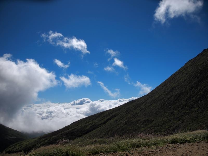 足慣らしの茶臼岳