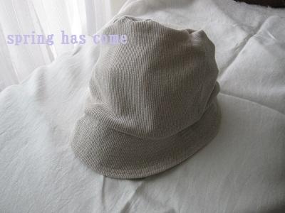 まいにち洗える帽子