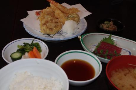 5てんぷら定食