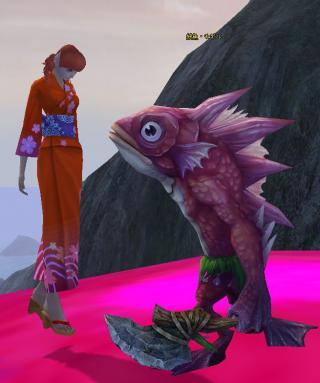 妖魚モギル