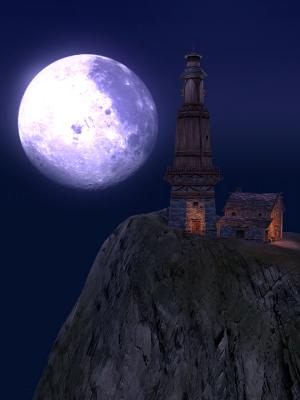夢幻の港の月☆