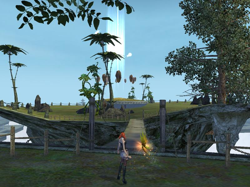 幻界霊城入り口付近