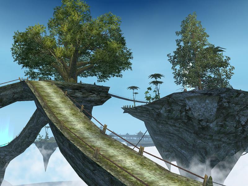 幻界霊城の大きな橋のところ