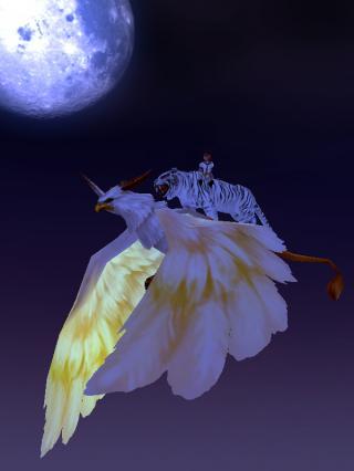 月とグリフォン☆