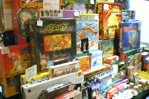 ウッドワーロックのボードゲーム・カードゲーム