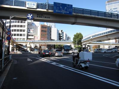 飯田橋交差点(補修後)
