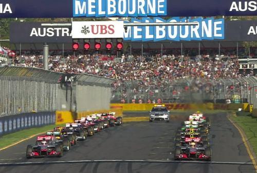 オーストラリアGP 決勝
