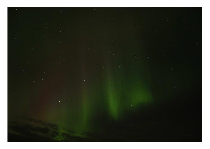 アイスランド オーロラ 2014-9 1