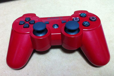 PS3 ワイヤレスコントローラ (DUALSHOCK3) ディープ・レッド