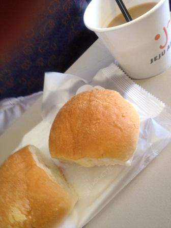 *帰りの機内食*