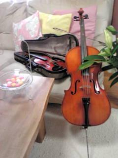 ヴァイオリンとチェロ