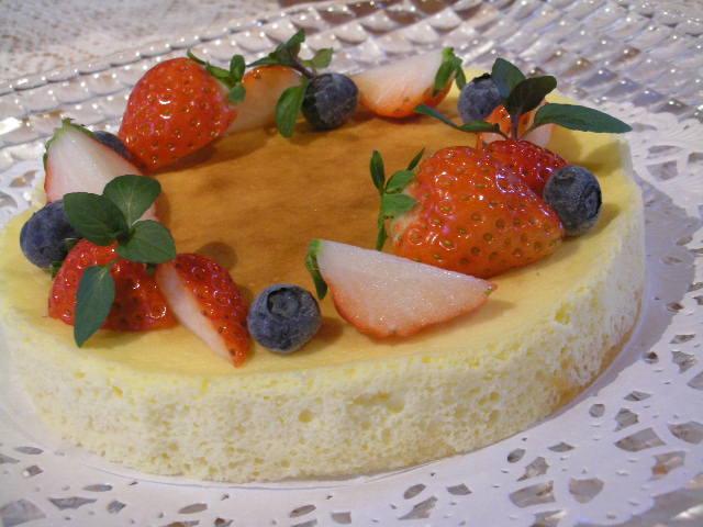 初夏のチーズケーキ