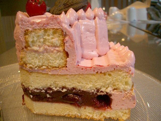 ケーキ 断面