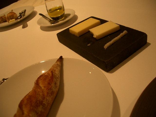 バター・オリーブオイル