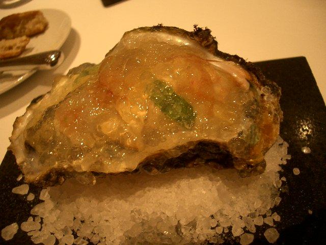 岩牡蠣のオードブル
