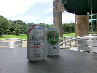 緑とビール