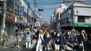 生田駅前にて