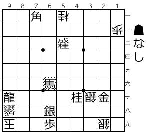 将棋無双30番(25手目▲66馬まで)