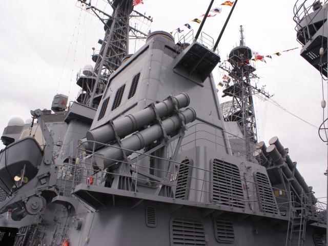 SSM発射機(ハープーン)