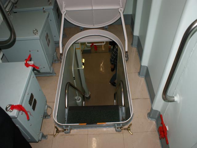 普通サイズの階段