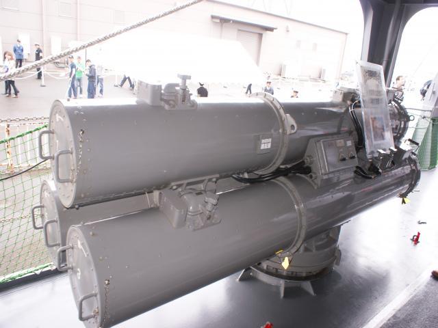 三連装短魚雷発射管