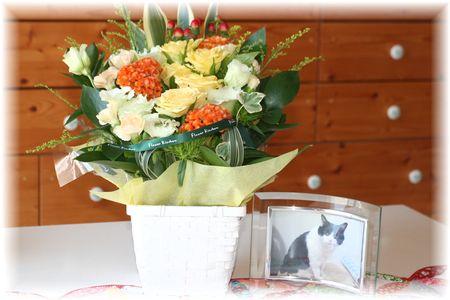 2012年やまだの命日のお花①