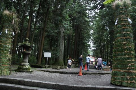 すすき祭り 浅間神社参道