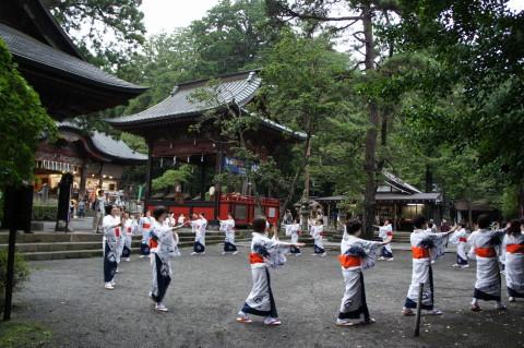 すすき祭り 民謡踊り