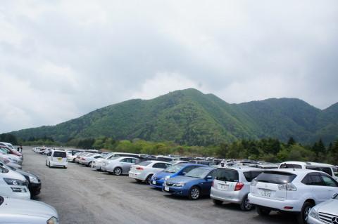 富士芝桜 駐車場
