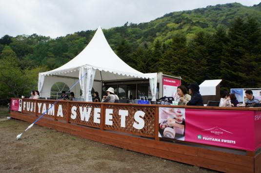 富士芝桜 桜カフェ