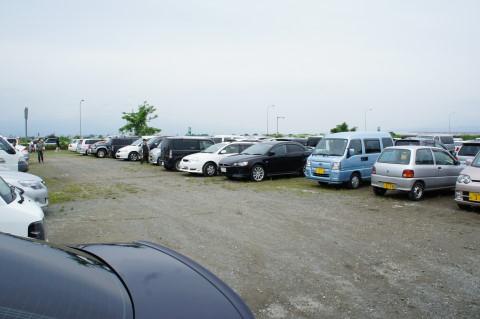 もろこしフェア 駐車場