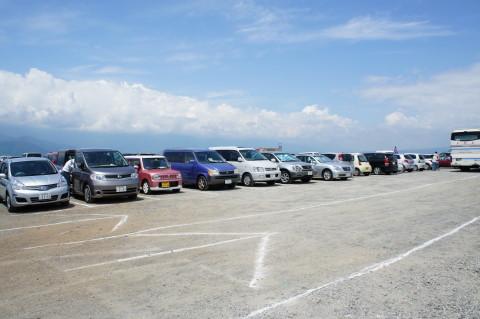 明野ひまわり 駐車場