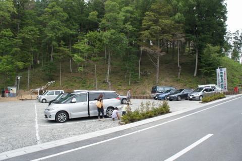 穂坂自然公園 駐車場