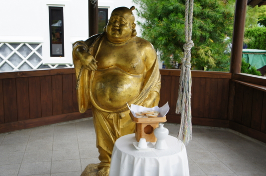 黄金の七福神 布袋尊