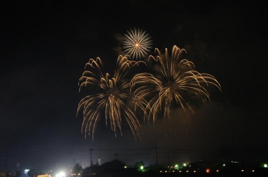 神明の花火 花火